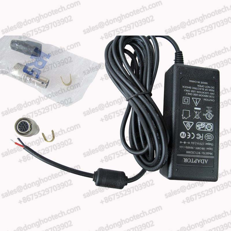 Professional Desktop Industrial Camera Power Supply DC 12V 1A for Surveillance