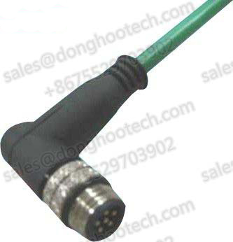 M9 Waterproof Cable Male Right Angle Type