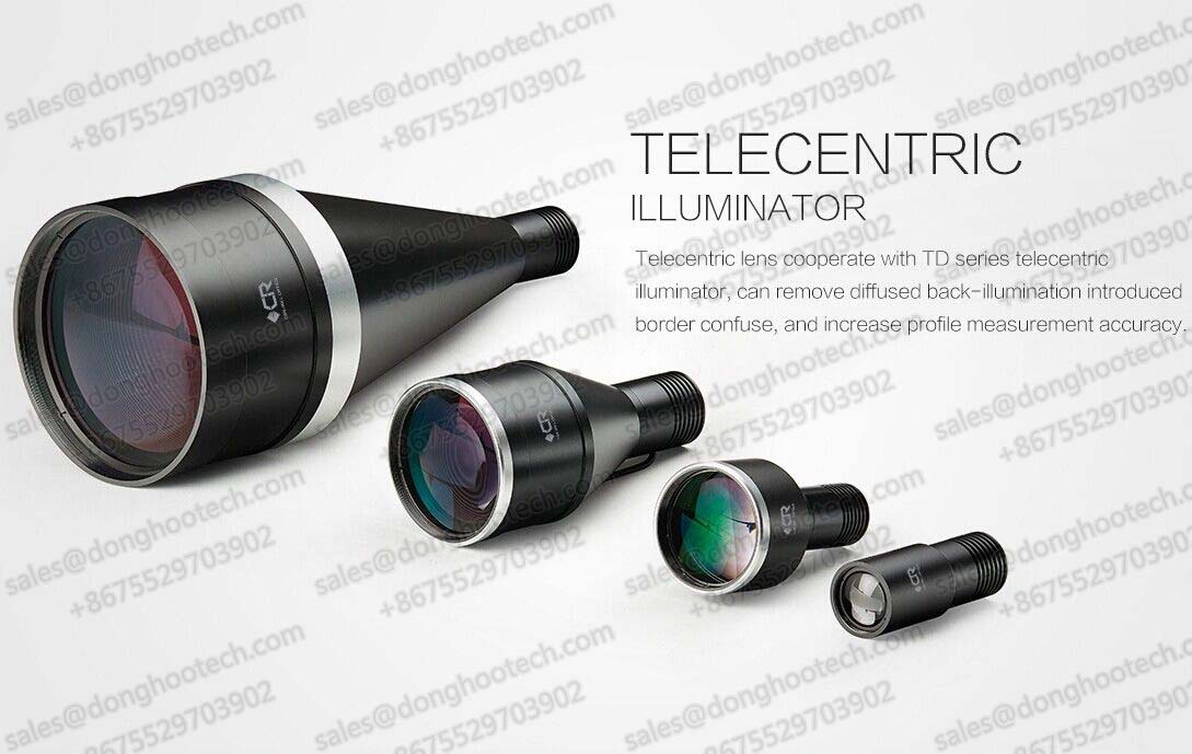 Customized Optical Lens Telecrntric Illuminator for Telecentric Optical System